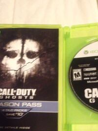 Call of duty ghosts xbox 360 game disc Ajax, L1T 3P6