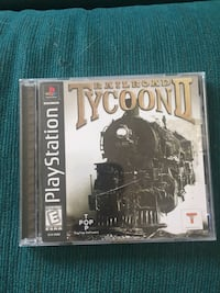 PlayStation Game Railroad Tycoon 2 Victor, 14564