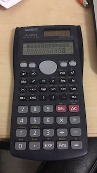 black Texas Instruments TI-84 Plus calculator Mississauga, L5M 7N6