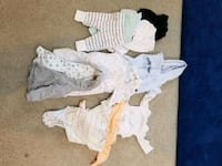 gently used 0-12 months baby clothes Chantilly, 20152