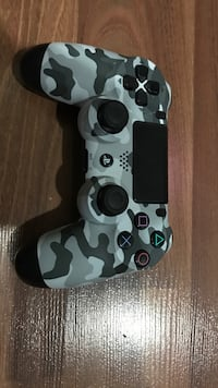white and black camouflage Sony PS4 controller Saskatoon, S7V 1E4