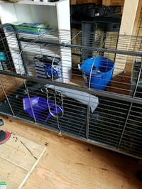 blue and white pet cage Eastern Passage, B3G 1T2
