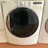 Kenmore Front load electric dryer 90 days warranty