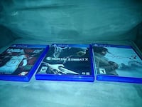 two Sony PS4 games Manassas, 20109