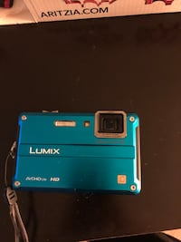 Lumix camera 14 megapixel, waterproof cover and case included Mississauga, L5M 6E2