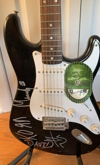 KORN autographed electric guitar