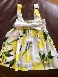 New with tags. Baby girl summer dress 18-24 months Bolton, L7E 1C8