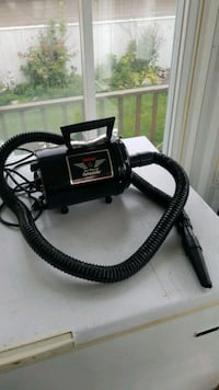 black and gray canister vacuum cleaner Edmonton, T5P 3E2