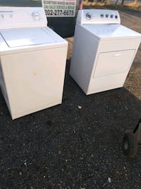 Whirlpool heavy duty washer and dryer works good  Capitol Heights, 20743