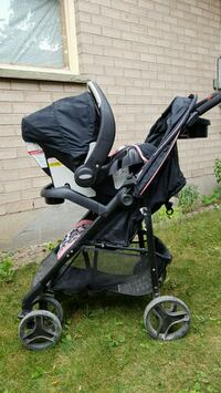 Evenflo stroller with infant car seat and base Brant, N3L