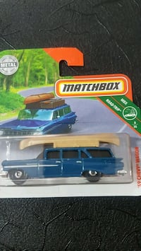 Matchbox Diecast Metal 59 CHEVY WAGON