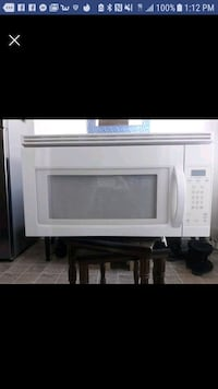 Microwave Oven for over the range/stove
