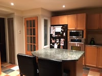 Kitchen cabinets and Granit Island  MONTREAL