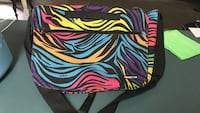 black, pink, and green zebra print bag West Monroe, 71291