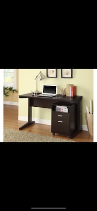 2 piece cappuccino desk Bellair, 32073