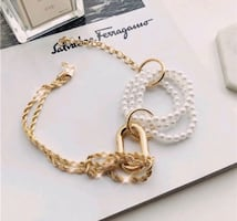 Necklace Faux Pearl