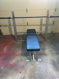 Bench Press with Olympic bar Reston