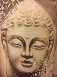 """Asian Buddah Head Wall Graphic 40"""" x 59"""" Fort Mill, 29715"""