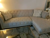 Grey Linen Couch Silver Spring, 20910