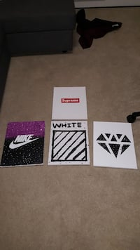 Supreme painting+ more