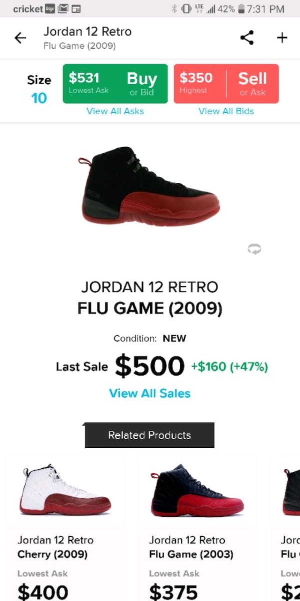 Flu Game 12's 2009, *MUST COME TO ME* *GREAT CONDITION* look at pic 10 18df7a52-8f82-409c-b7fa-5e715ce960c4