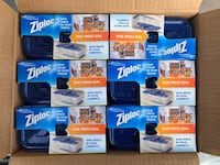 Ziploc One Press Seal Small Rectangle Container - 5 ct/ Six Pack Franklin, 37027