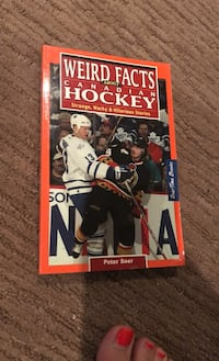 Weird Facts About Hockey Book