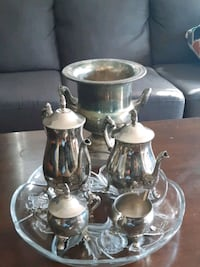 Silver coffee and tea service Mississauga, L5W 1B1