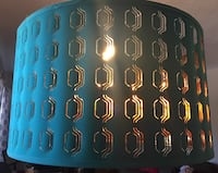 IKEA Nymo light shade - turquoise (discontinued) Toronto, M8V 2A9