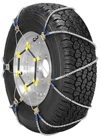 2 sets of 2 SUV Tire Traction Chain