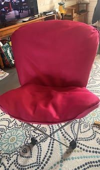 Two Papasan Style Butterfly Chairs