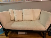 Small futon that folds out. Perfect for a small space. Alexandria, 22314