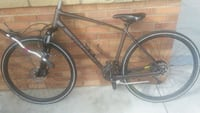 black and gray hardtail mountain bike Austin, 78745
