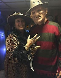 Freddy Krueger hat mask and sweater costume set  Rochester, 14609