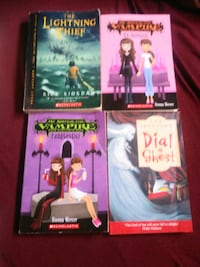 all 4 books for $5.00  Calgary, T2K 3Z1
