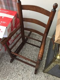 Antique child's rocking chair frame Gaithersburg, 20878