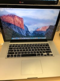 "Macbook Pro 15"" Intel Core i7 Mid 2010, 8 GB RAM 1 TB Hard Drive 17 km"