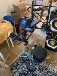 WEIGHT BENCH AND WEIGHTS!$200 OBO Winnipeg, R3C 1N1