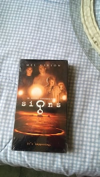 Signs DVD box