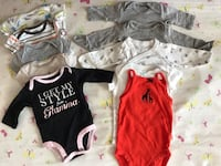 10pieces onesies for nb-3m Chantilly, 20152