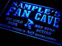 New Personalized Custom Fan Cave LED Light  Mount Holly, 28120