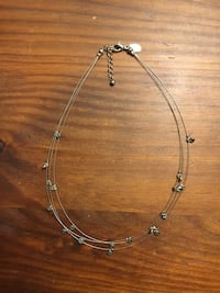 Multilayer necklace from Express Annandale, 22003