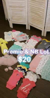 Baby girl Clothing Lot - Premie & NB - $20 Take Al Anaheim, 92805