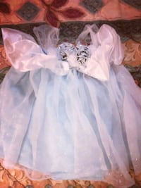 Little girl blue Disney dress size 12-18months. Statesville, 28625
