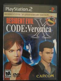 Resident Evil Codename Veronica for PS2 Vaughan, L4L