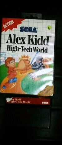 Alex kidd high tech world sms sega master system