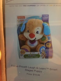 Fisher-Price laugh and learn smart stages puppy West Babylon, 11704
