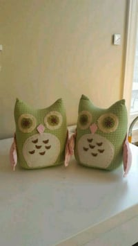 Bookends  (two), fabric, pottery barn. Vaughan, L6A 4N5