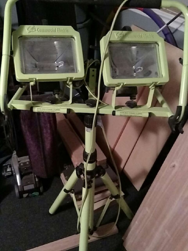 Used commercial electric work light for sale in sandown letgo commercial electric work light aloadofball Images