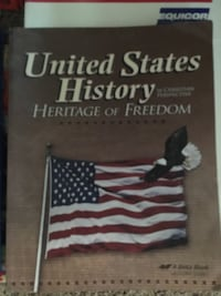 U.S. History Course by Abeka 4High School